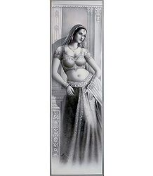 Indian Beauty - Unframed Poster
