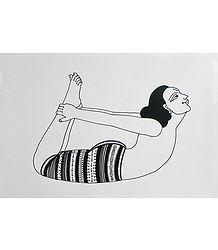 Yoga Asana - Poster