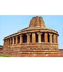 Durga Temple in Aihole, India - Photographic Print