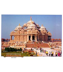 Akshardham Temple - New Delhi, India - Poster