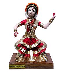Photo Print of Bharatnatyam Dancer