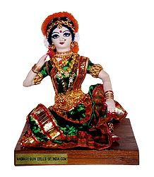 Bharatnatyam Dancer - Unframed Photo Print on Paper