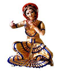 Bharatnatyam Dancer of Tamilnadu, India - Doll Artist - Madhuri Guin