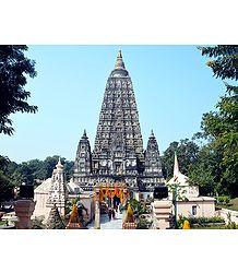 Mahabodhi Temple in Bodhgaya, Bihar - india