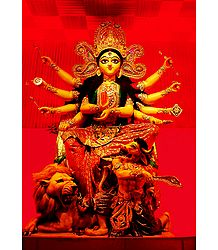 Buy Photographic Print of Goddess Durga