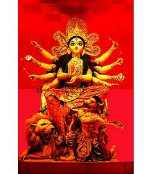 Buy Photographic Print Durga