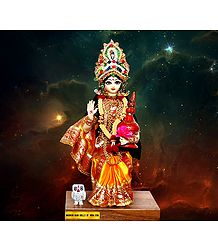 Devi Lakshmi - Unframed Photo Print on Paper