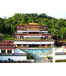 Ranka Monastery - Dharma Chakra Centre, East Sikkim, India - Photo Print