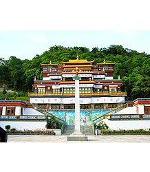Ranka Monastery, Sikkim - Photographic Print