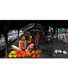 Fruit Seller - Unframed Photo Print on Paper