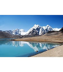 Gurudongmar Lake - Gangtok, Sikkim, India - Photographed by Nilanjan