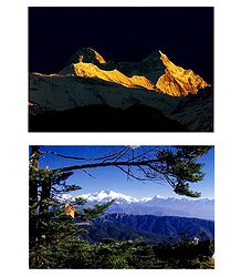 Majestic Himalayas, India - 2 Photo Prints