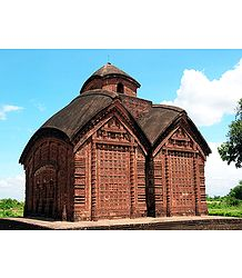 Vishnupur Terracotta Temple - Bankura, West Bengal, India