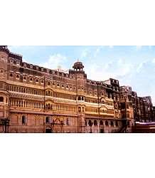Junagarh Fort - Bikaner - Rajasthan, India
