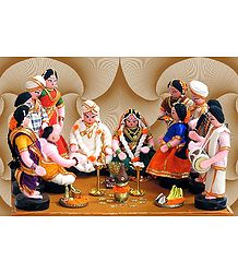Kannada Marriage Photo - Unframed Photo Print on Paper