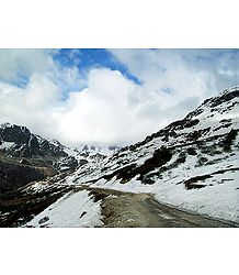 Road to Katao Valley, Sikkim - Photo Print