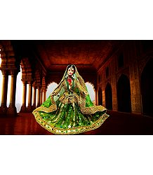 Kathak Dancer - Unframed Photo Print on Paper
