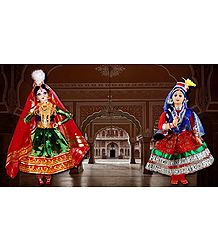 Kathak Dancers - Unframed Photo Print on Paper