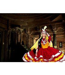 Photo Print of Kathak Dancer Doll