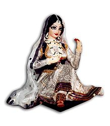 Photo Print of Kathak Dancer - Doll Artist - Madhuri Guin
