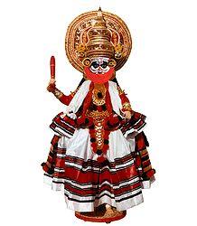Kathakali Dancer from Kerala - Doll artist - Madhuri Guin