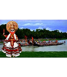 Photo Print of Kathakali Dancer - Doll artist - Madhuri Guin