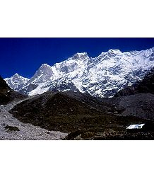 Kedarnath Peak, India - Photographic Print