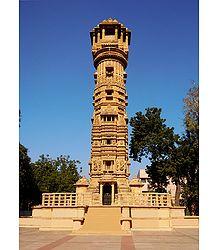 Kirti Stambh, Hutheesing Jain Temple, Ahmedabad - Gujarat, india