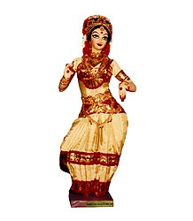 Kuchipudi Dancer - Photo Print