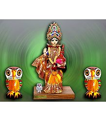 Devi Lakshmi Photo - Unframed Photo Print on Paper