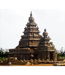 Seashore Temple, Mahabalipuram - Tamil Nadu, India