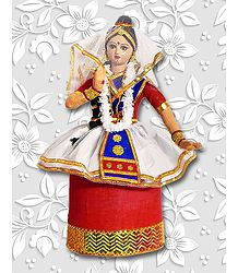 Photo Print of Manipuri Dancer