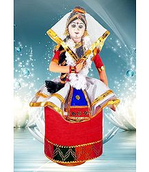 Photo Print of Manipuri Dancer Doll