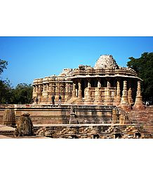 Sun Temple, Modhera - Gujarat - Photo Print