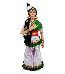 Photo Print of Mohini Attam Dancer