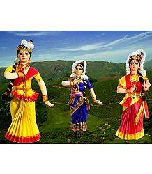 Photo Print of Mohini Attam Dancers