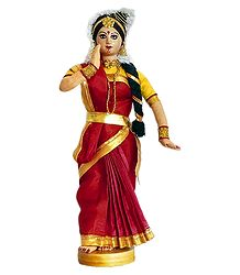 Mohini Attam Dancer Doll from Kerala