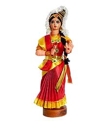 Mohini Attam Dancer - Unframed Photo Print on Paper
