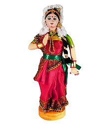 Photo Print of Mohini Attam Dancer Doll