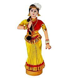Mohini Attam Dancer Doll from Kerala
