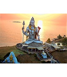 Lord Shiva in Murudeshwar - Photo Print