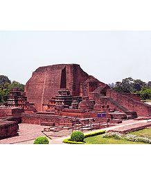 Nalanda University Ruins, Bihar - Buy Photo Print -