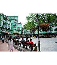 Namchi Bazar - South Sikkim, India