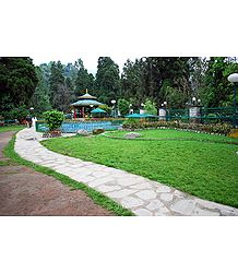 Namgyal Memorial Park, Gangtok - Photographic Print