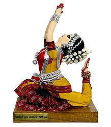 Photo Print of Odissi Dancer - Doll Artist - Madhuri Guin
