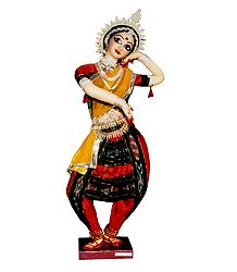 Photo Print of Odissi Dancer - Doll Artist - Madhuri Guin