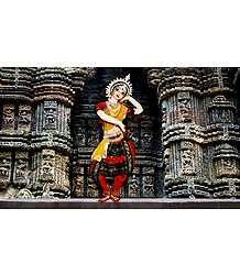 Photo Print of Odissi Dancer- Doll Artist - Madhuri Guin