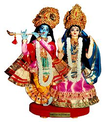 Radha Krishna - Unframed Photo Print on Paper