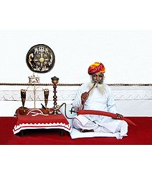 Rajput Royal Guard from Rajasthan, India