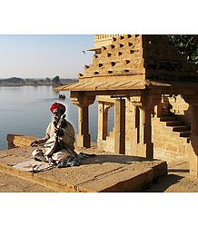 Folk Singer from Jaisalmer -Rajasthan, India